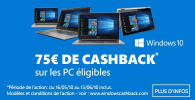 Windows - €75 cashback